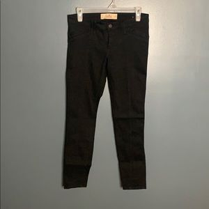 Hollister black Super Skinny pants